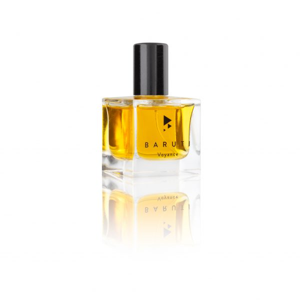 Baruti Voyance tuberose and vetiver smokey perfume